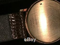 Baume & Mercier 14K Solid Gold Swiss Quartz Watch MOA95147 (Not working)