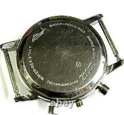 Boite boitier ZODIAC valjoux 72 chronographe chronograph diver case 1