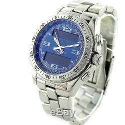 Breitling B-1 A68062 Chrono Stainless Steel Auto Mens Watch For Parts + Repairs