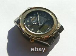 Breitling Navitimer 2400 81490 watch case with glass clock work broken I001
