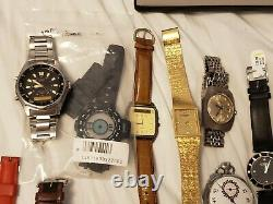 Bulk Lot Watches (All for Repair or Parts)