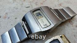 Bulova & Hudson Jump Hour Watches Lot Of 2 Watches For Parts