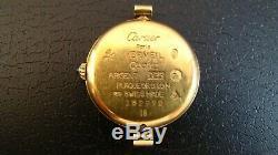 CARTIER Vermeil 18k Gold Women's Vintage Watch. Not Working