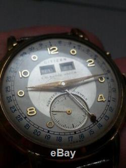 CITIZEN Calendar Watch 16J Automatic BROKEN PR