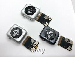 CLEARANCE! Lot of 3 Apple Watchs 38mm & 42mm Series 3 for Parts or Repair