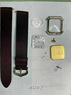 Cartier Must de Authentic Demo / Dummy Watch Gold Plated For Parts or Display