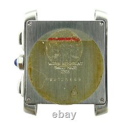 Cartier Tank Francaise 2303 Stainless Steel 28mm Watch Head For Parts Or Repairs