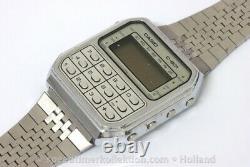 Casio C-801 digital calculator watch for Parts or Restore 153455
