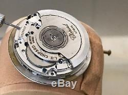 Chopard-Mille-Miglia-Chronograph-Watch Movement-For Parts-Swiss-Made-37 jewels