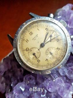 Chronograph Diver Swiss Valjoux 72 For Parts