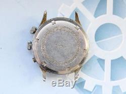Chronometre Lemania Chronoghraph watch mechanical Swiss for parts for repair