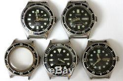 Citizen 51-2273 automatic mens divers watches for parts/restore 139032