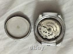 Citizen Bullhead Chronograph Automatic Mov. 8110A Men Watch For Parts