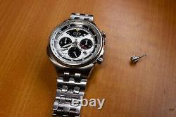Citizen Eco Drive Chronograph Mens Calibre2100 AV0031-59A Watch For Parts Repair