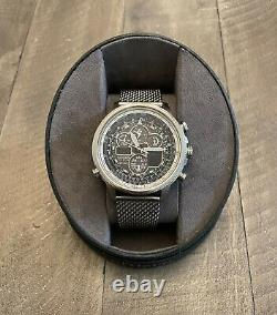 Citizen Navihawk Eco Drive 48mm Watch For Parts