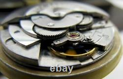 Cowie Lusserna 213 automatic watch movement 17 jewels for parts