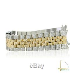 Diamond Bracelet TT for Rolex Datejust 36mm 16013 16233 and etc. VS DIAMONDS