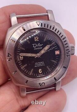 Difor Nivada Depthmaster Baby Panerai 1000M Diver Watch