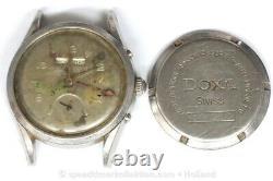 Doxa AS 1315 calendar automatic bumper watch for Parts Restore 149326