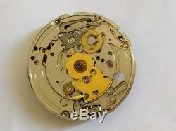 ETA 2879 25 jewels automatic movement watch date -Run &stop -for part