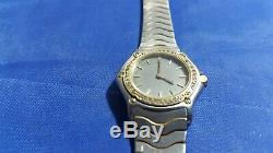 Ebel Women's Watch for parts Bezel 18K Gold with Diamonds