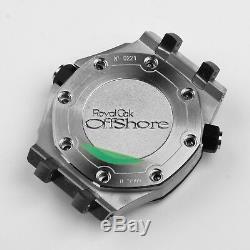 Eta 2824 watch case kit watch repair parts for ap watch 316 steel
