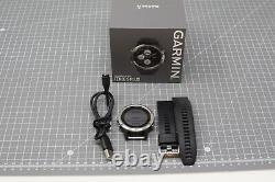 FAULTY Garmin Fenix 5 Plus Multi-sport Training GPS Watch Silver 578UDH