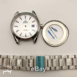 FIT ETA 2824 watch parts watch case kit for seamaster style