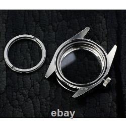 Fit eta 2824 st2130 movement watch parts case kit for black bay blue 40mm