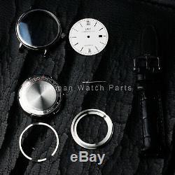 Fit eta 2824 st2130 movement watch parts case kit for portofino