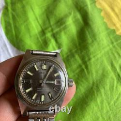For Parts SEIKO First Diver 6217-8001 150M Day Date 17-jewels Men's Watch