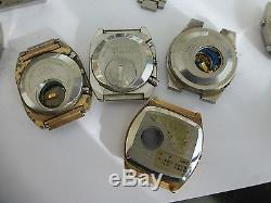 For parts LOT OF SEIKO LCD QUARTZ 14 WATCHES FOR REPAIR OR PARTS