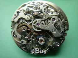 GALLET & CO, VALJOUX 72 chronograph movement, 30mm, nearly complete, MINT PARTS