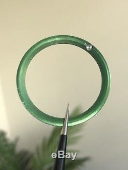 GENUINE Rolex GREEN INSERT 16610LV Authentic and Good Condition