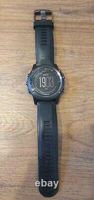 Garmin Fenix 3 HR Sapphire Multisport Training GPS Watch UNTESTED