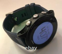 Garmin Forerunner 935 GPS Running Triathlon Watch Blue Broken Glass See Pics
