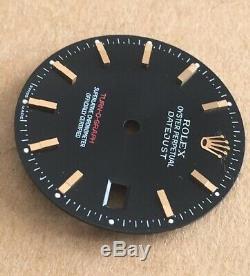 Genuine Rolex Turnograph 116261 Dial