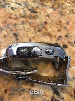 Glycine Altus Complique Watch Chronograph 3827 Rare Broken