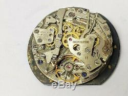 Hamilton Chrono-Matic Fontainebleau Caliber 11 Non-Working Watch For Spare Parts
