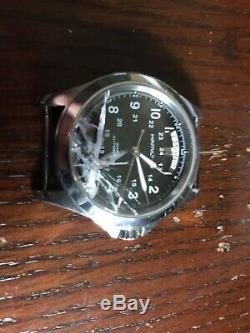 Hamilton H64455533 Khaki Filed King Day Date watch for Men For Parts/Repairs
