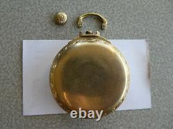 Hamilton Railway Special 992B 16s Railroad Pocket Watch for Parts or to Fix