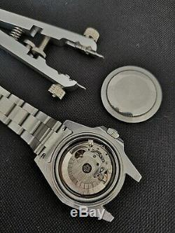 Helenarou 40mm Sterile Submariner. Steel Case and bracelet with Ceramic Bezel