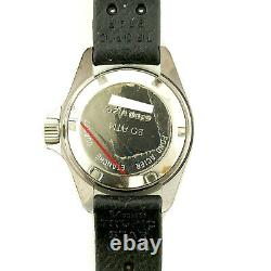 Heuer 980.038 Prof Diver 1000 Black Dial 200m Ladies Watch For Parts Or Repairs