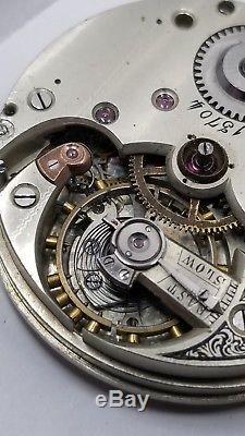 High Grade Pocket Watch Movement 46.5 mm Private Label for parts F1017