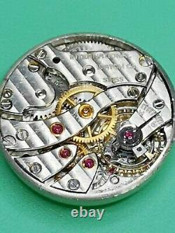 IWC Cal 94 Hard to Find Vintage Watch Movement for Parts or Repair (S79)