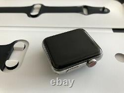 IWatch-Apple Watch series 3 42mm stainless steel