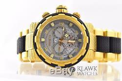 Invicta Reserve 6663 Men's 18-K Gold Ronda Swiss Chronograph Watch Broken