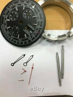 LORSA Watch kit for ETA Valjoux 7750 movement with all parts new XXL Case