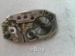 Ladies Omega watch T12.6 not working 9 carat Dennison goldcase with all Halmark