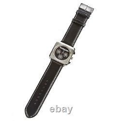 Lambretta Watch Black Cassola 2051/BLA Black Leather Strap Damaged Box